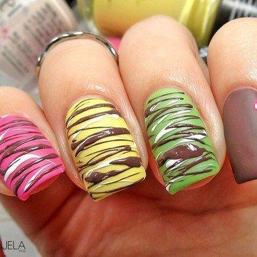 Sugar Spun Nail Art nail art by bydanijela