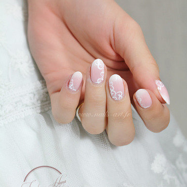 La Mariée traditionnelle nail art by Tenshi_no_Hana