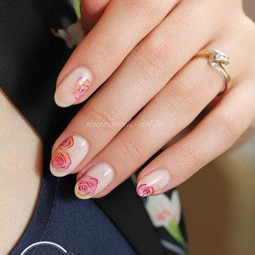 La Mariée colorée nail art by Tenshi_no_Hana