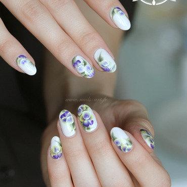 Pensez les pensées nail art by Tenshi_no_Hana