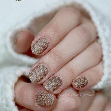 Pull Over nail art by Tenshi_no_Hana