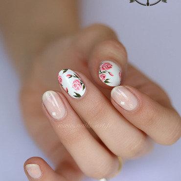 St Valentin pour Winstonia nail art by Tenshi_no_Hana