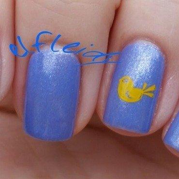 Chickies nail art by Jenette Maitland-Tomblin
