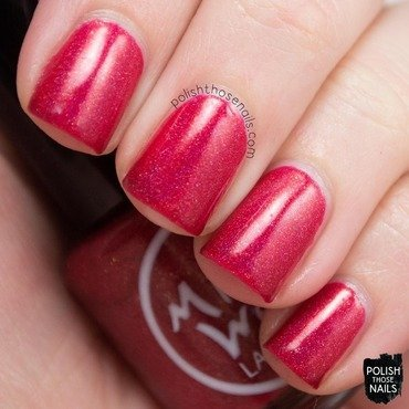 Midwest lacquer happy holodays red holo swatch 3 thumb370f