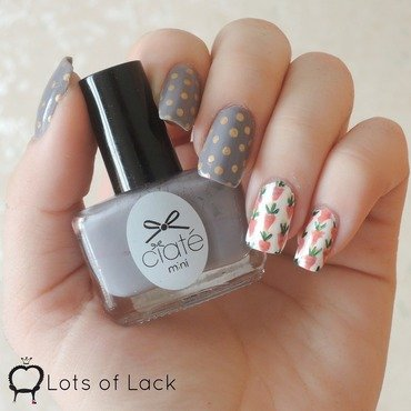 Easter Carrots nail art by LotsOfLack