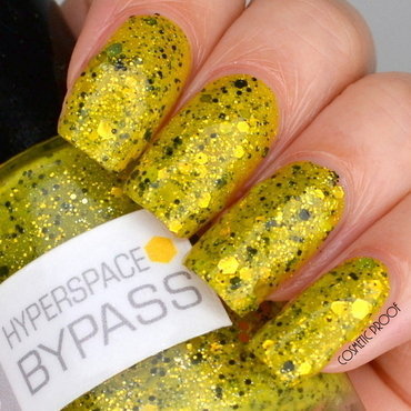 Nerd Lacquer Hyperspace Bypass Swatch by Jayne