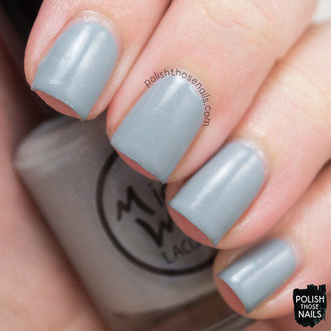 Midwest lacquer heartless blue grey shimmer creme swatch 4 thumb370f