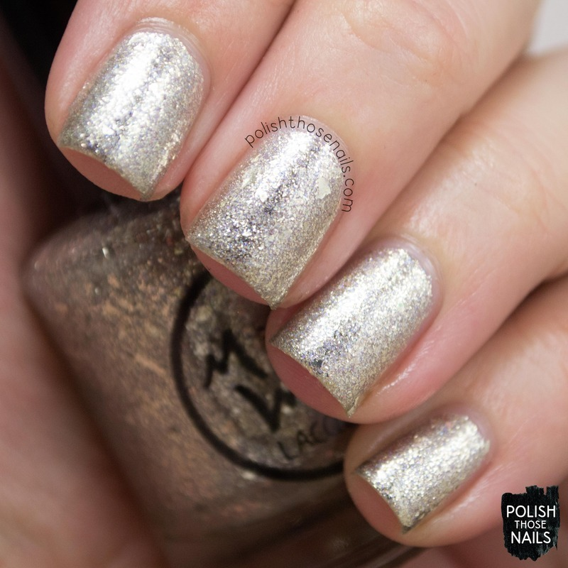 MidWest Lacquer Sandwiches & Buttermilk Swatch by Marisa  Cavanaugh
