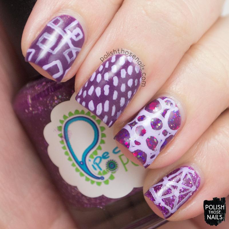 Skit-let nail art by Marisa  Cavanaugh