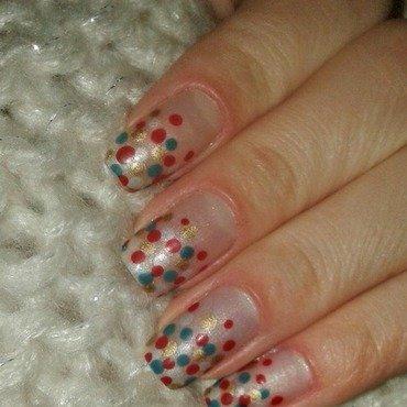 Dot nail art by Irina Nail