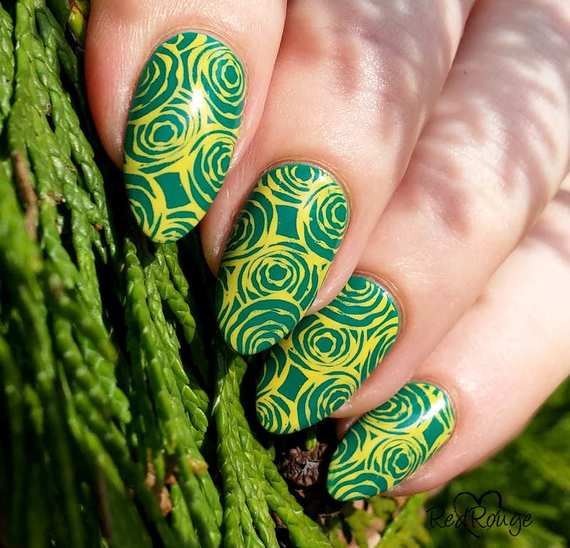 Spring colors nail art by RedRouge