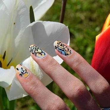 Pastel Spring nail art by i-am-nail-art