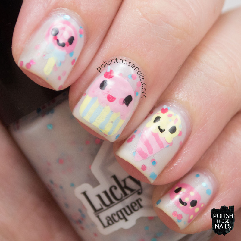 Cutesie Candy nail art by Marisa  Cavanaugh