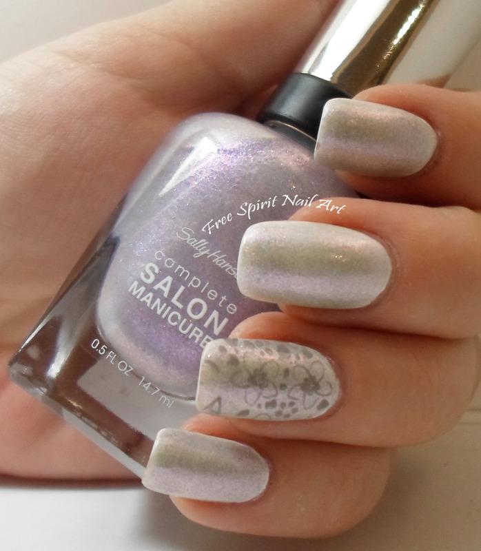 Shimmer Nails nail art by Free_Spirit_Nail_Art