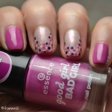Fun dots nail art by Andrea  Manases