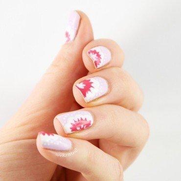 Floral Spring nail art by Ann-Kristin