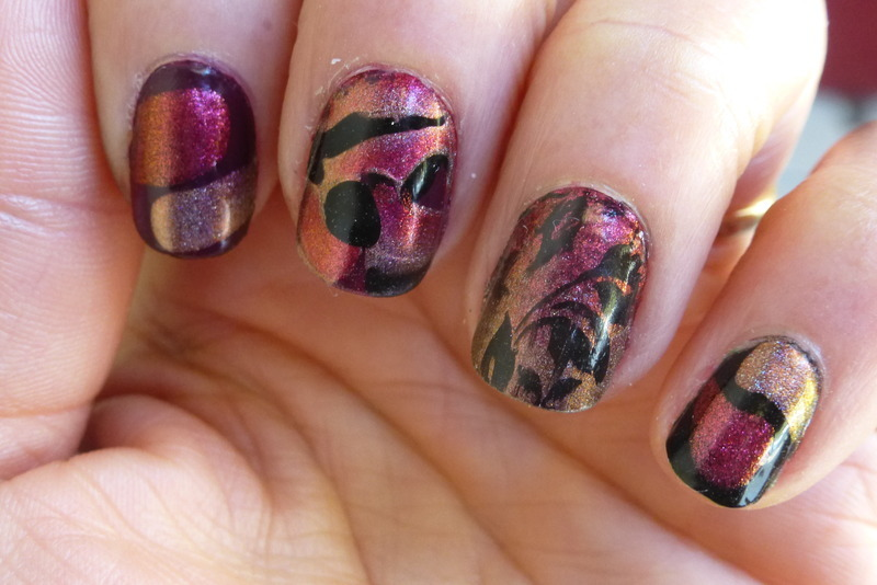 Mix & match nail art by Barbouilleuse