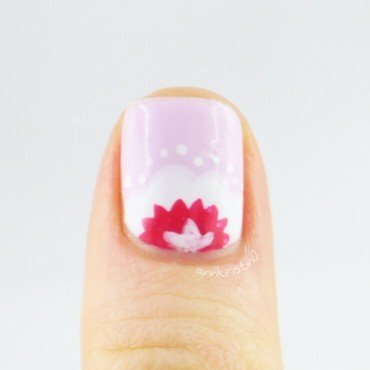 Accent Thumb nail art by Ann-Kristin
