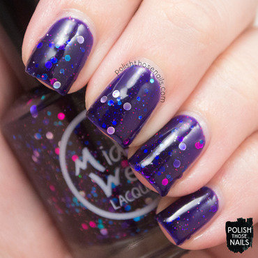 MidWest Lacquer I'm An Evil Hordak Swatch by Marisa  Cavanaugh