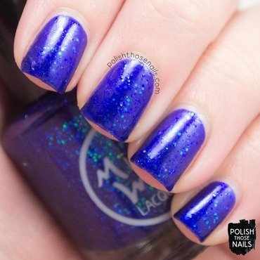 Midwest lacquer where bluebirds fly blue glitter swatch 3 thumb370f