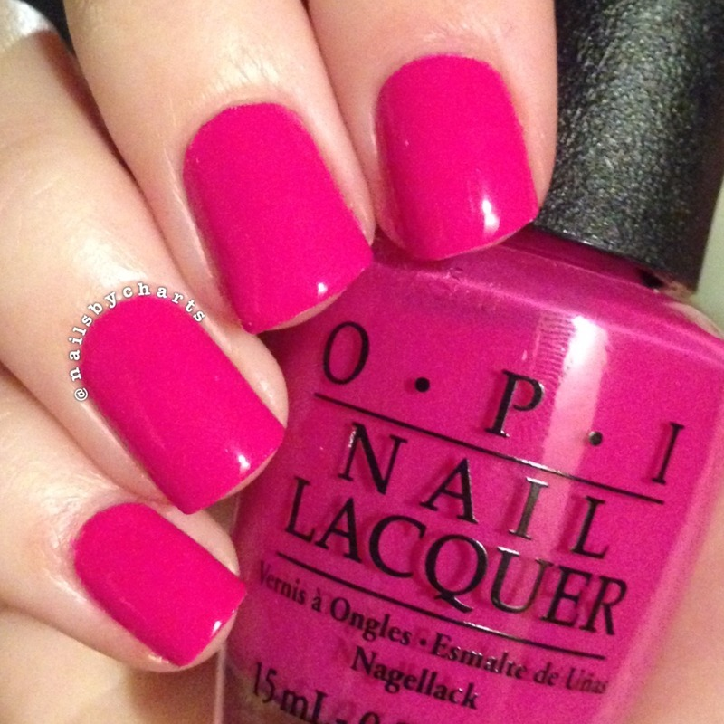OPI The Berry Thought Of You Swatch by Claudia