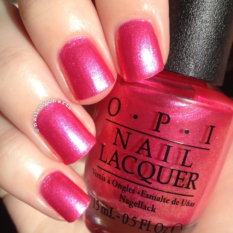 OPI I Can't Hear Myself Pink Swatch by Claudia