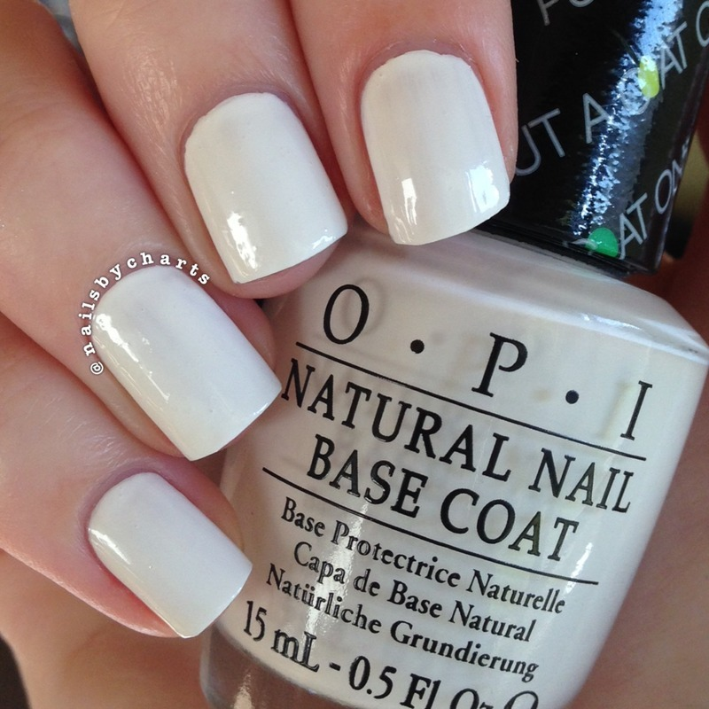 OPI Put a coat on Swatch by Claudia