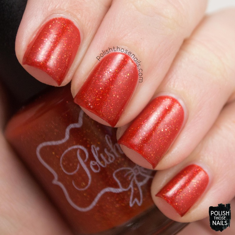 Polish 'M Pumpkins In The Patch Swatch by Marisa  Cavanaugh