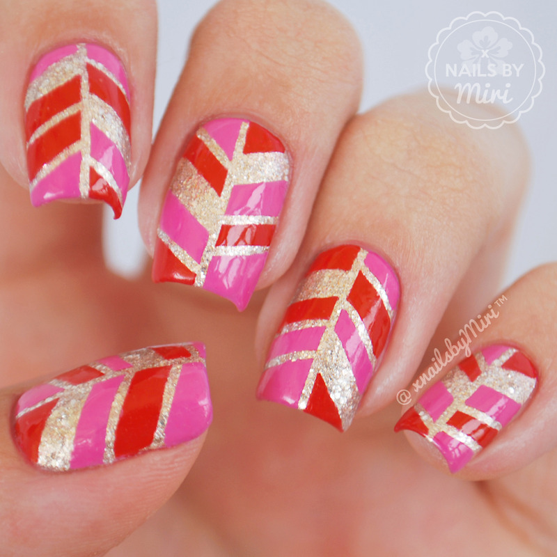 Striping Tape Nail Art Tutorial: Striping Tape Nail Art Nail Art By XNailsByMiri