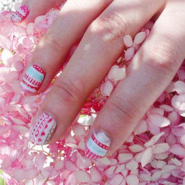 Printemps ethnique nail art by Alizee