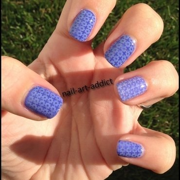 Nail Art : Stamping Again nail art by SowNails