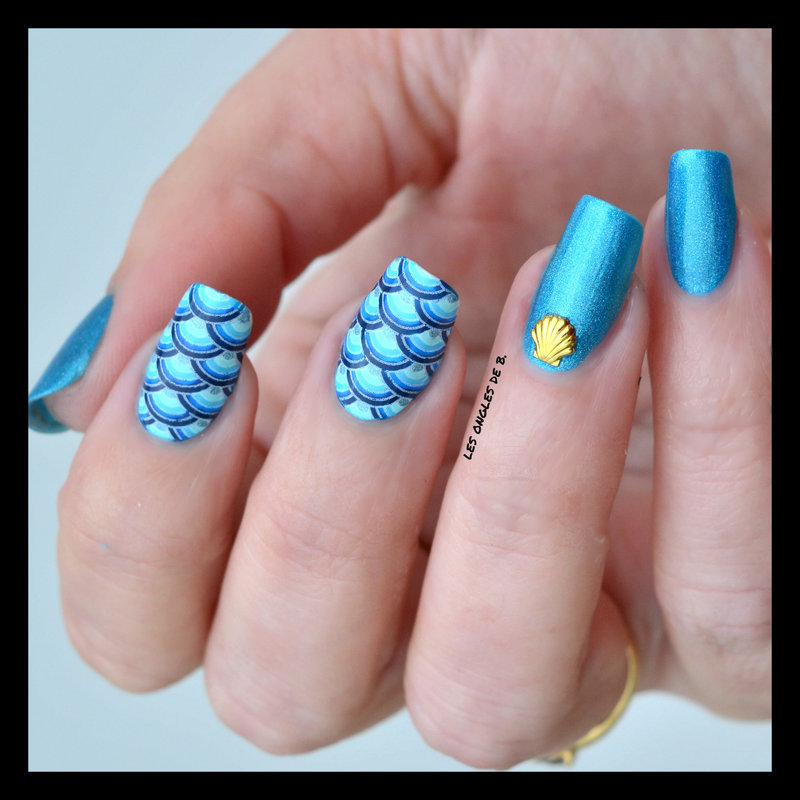 Camaïeu nail art by Les ongles de B.
