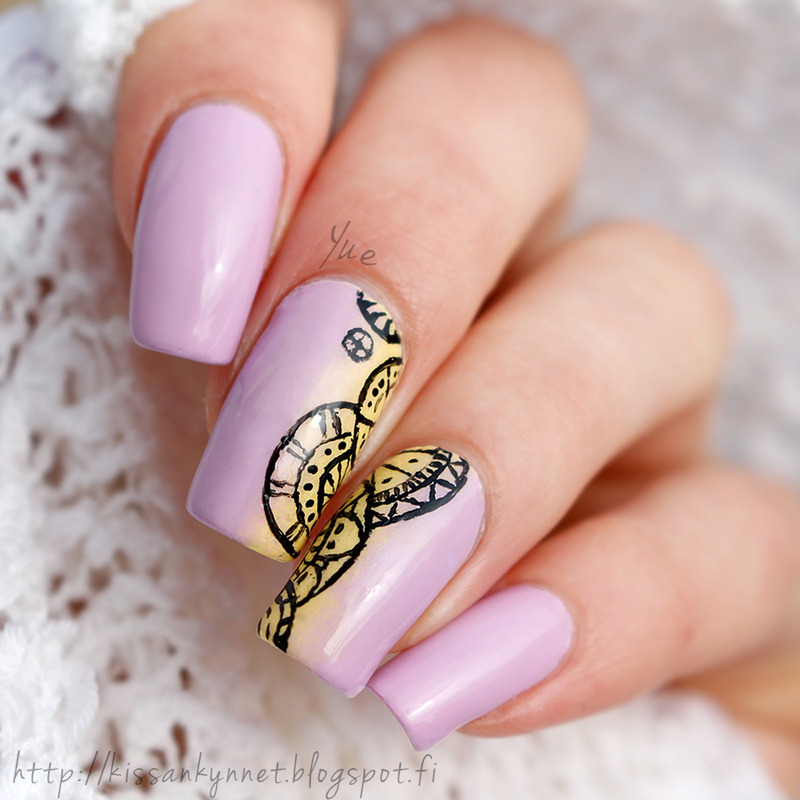 Spring Sweetness nail art by Yue