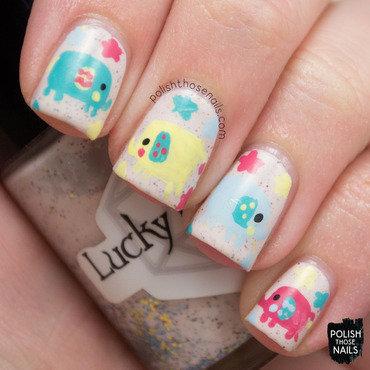 Baby elephant star nail art 4 thumb370f