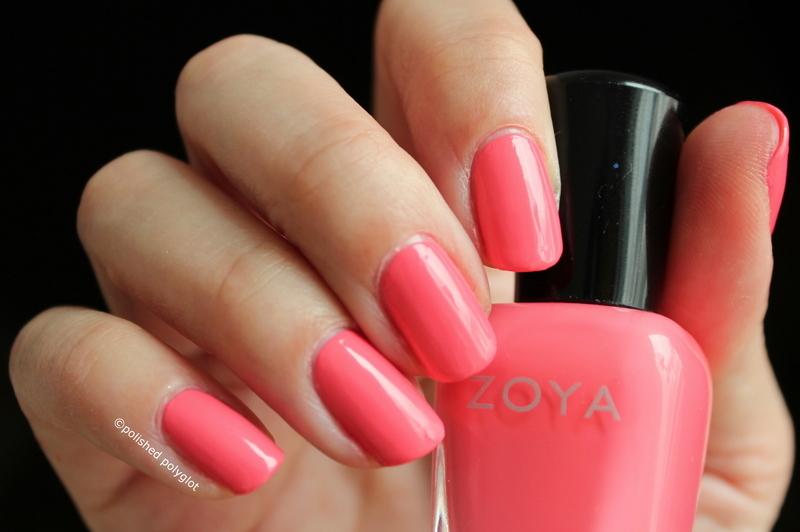 Zoya Wendy Swatch by Polished Polyglot