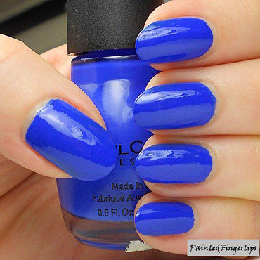 Sinful Colors Endless Blue Swatch by Kerry_Fingertips