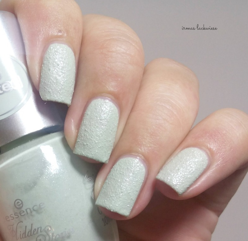 Essence enchanted by hint of mint Swatch by irma
