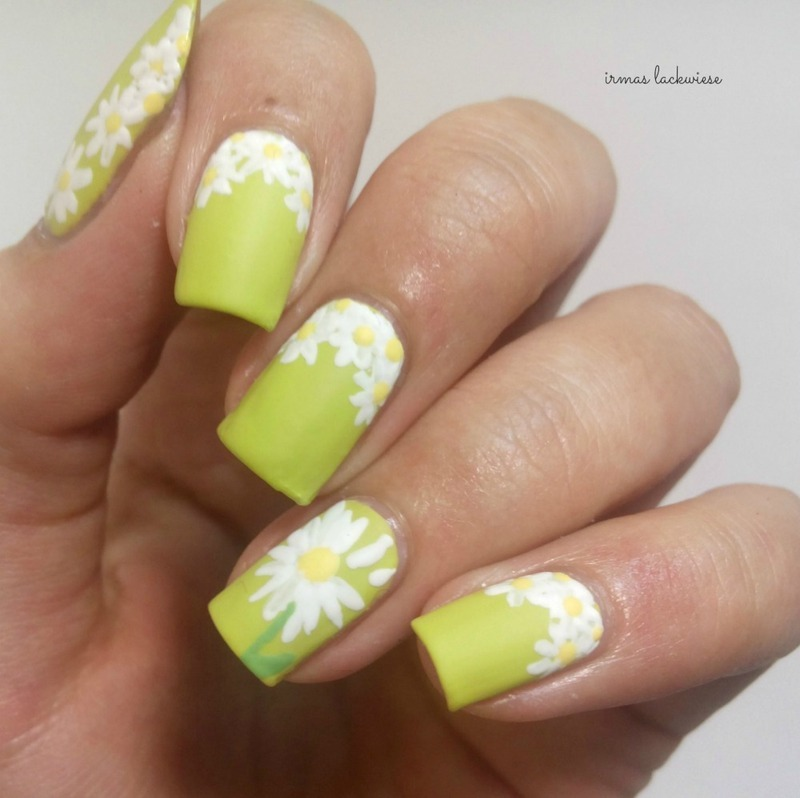 daisy nailart nail art by irma