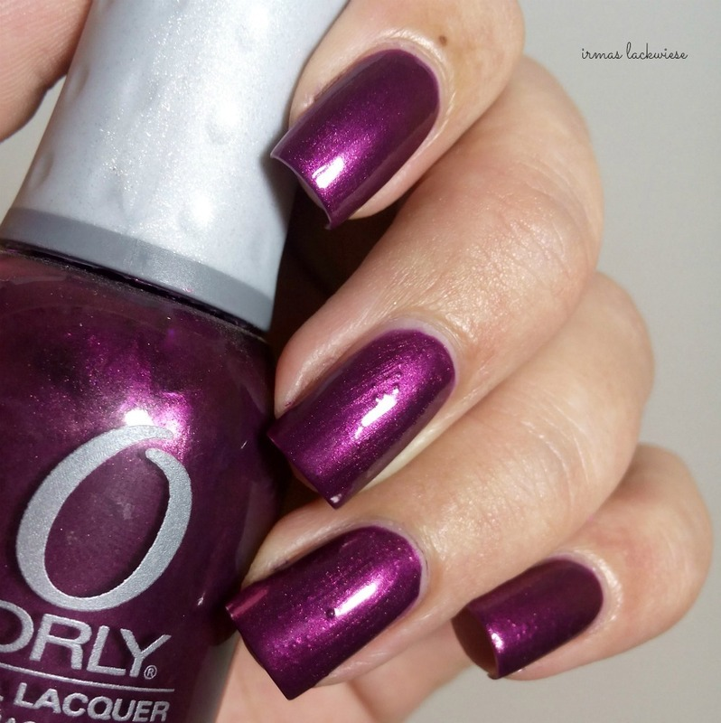 Orly close your eyes Swatch by irma