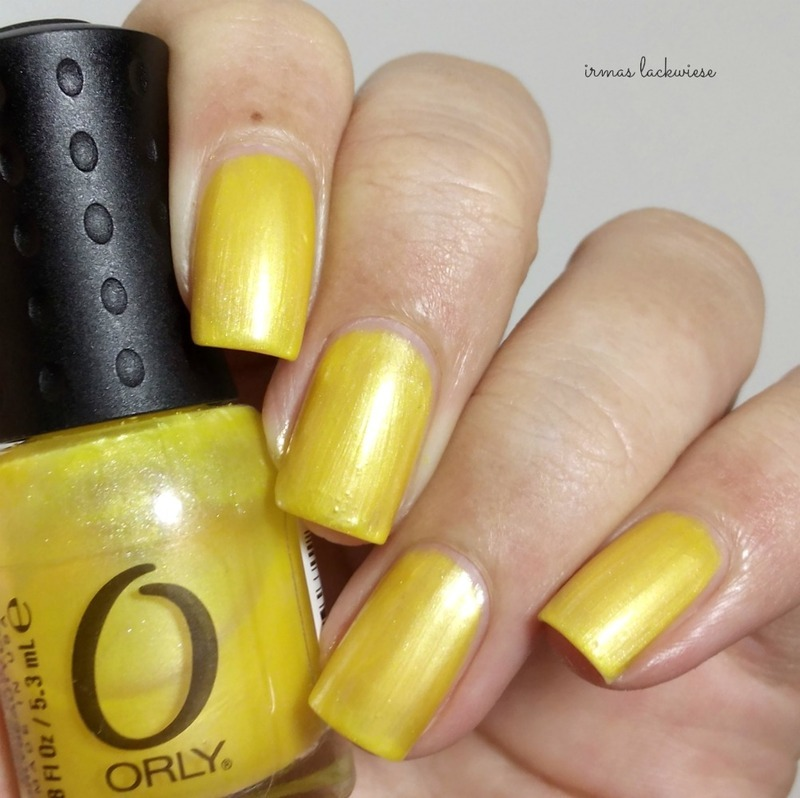 Orly hook up swatch