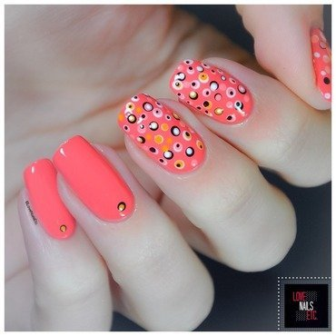 3 20shades 20of 20orange 20dotticure 20nail 20art 20  2040 20great 20nail 20art 20ideas6 thumb370f