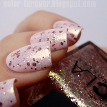 Rimmel Lose Your Lingere and NCLA Prima Ballerina Swatch by ania
