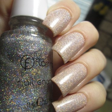 flormar Holographic Silver 392 Swatch by NailArt_T