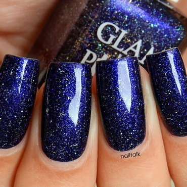 Glam Polish Man on the Moon Swatch by Nailtalk
