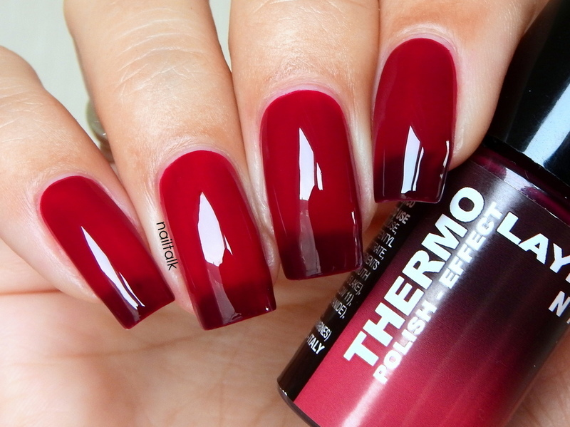 Layla Thermo effect No. 7 Swatch by Nailtalk