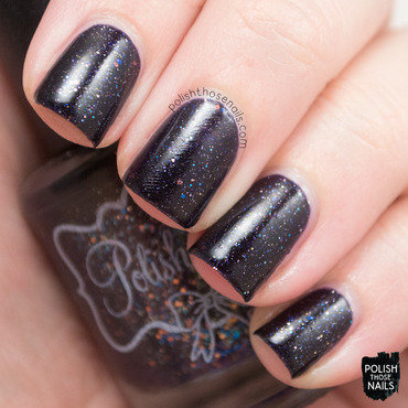 Polish m its fall yall dark puple glitter jelly swatch 3 thumb370f