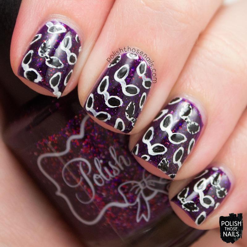 Cider Sunnies nail art by Marisa  Cavanaugh