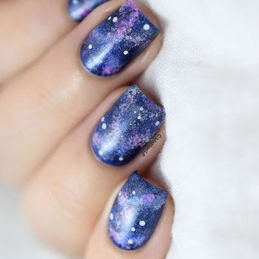 Galaxy nail art 20 9  thumb370f