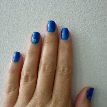 Once in a blue moon nail art by velinux