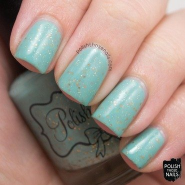 Polish m lady liberty blue mint glitter crelly swatch 3 thumb370f